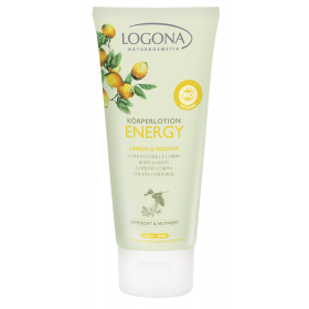 Bodylotion Energy Sitron & Ingefær - 200ml