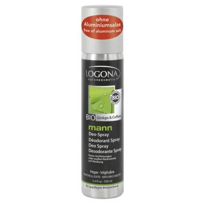 Deospray Mann Ginko & Koffein