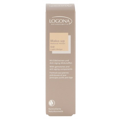Foundation Natural 02 light beige