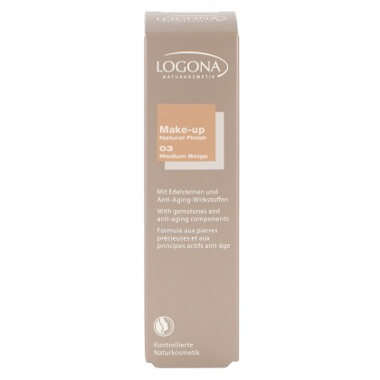Foundation Natural 03 medium beige
