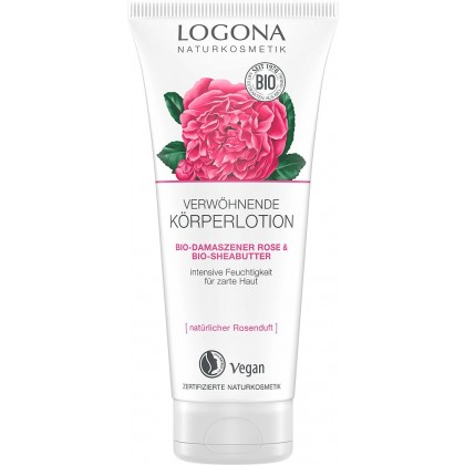 Bodylotion Bio Damask Rose