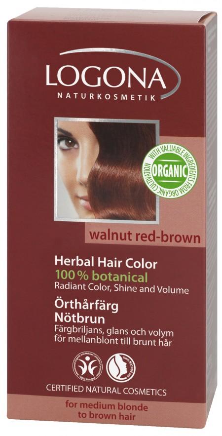 Plantehårfarge Valnøttbrun-Kastanje