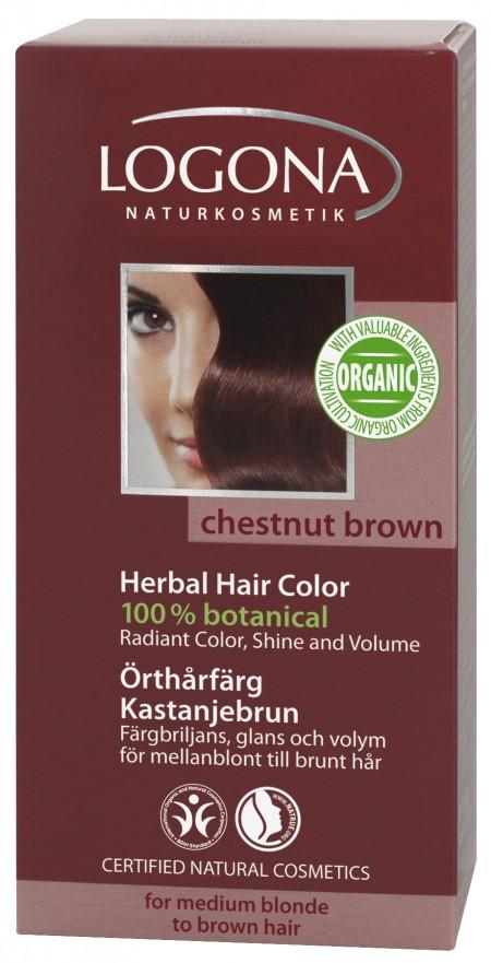 Plantehårfarge Maronbrun