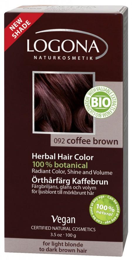 Plantehårfarge Kaffebrun